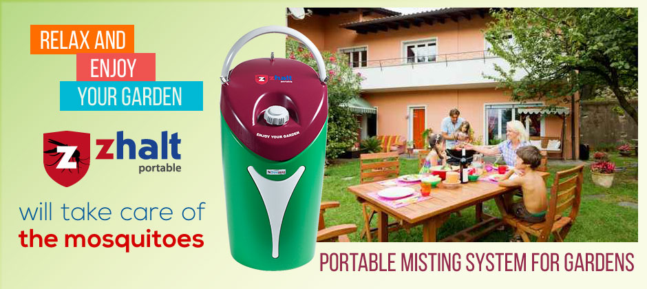 Parts Of A Patio Misting System : Mosquito misting systems for gardens and outdoor areas