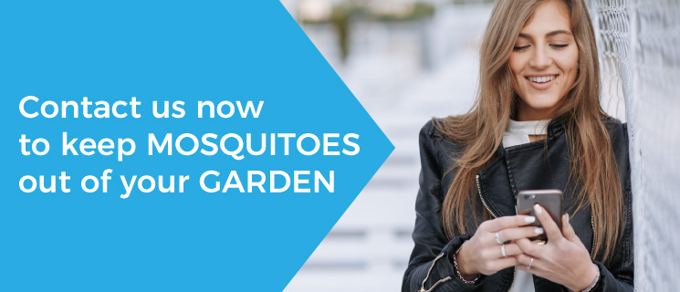 Keep mosquitoes out of garden: contact Freezanz