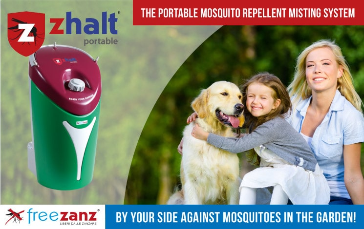 Portable Mosquito Repellent Misting System